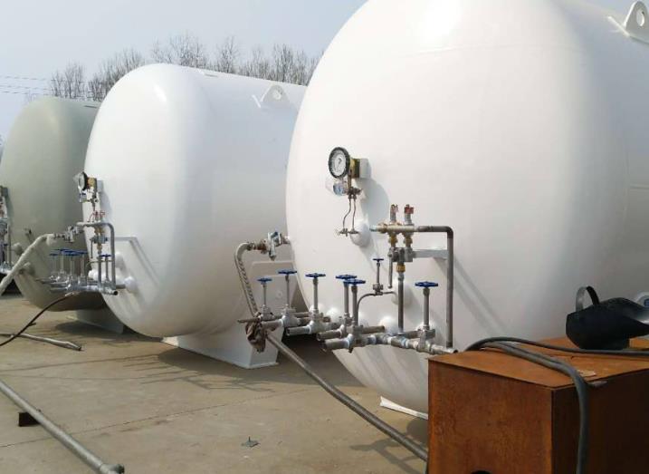 山东氧氮氩储罐
